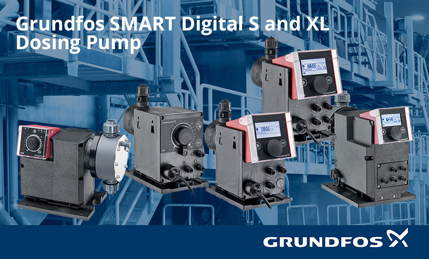 Pompa Dosing Grundfos SMART Digital S and XL Dosing Pump