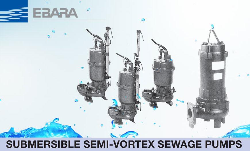 Mesin Pompa Celup Industri Air Kotor Ebara DS dan DVS