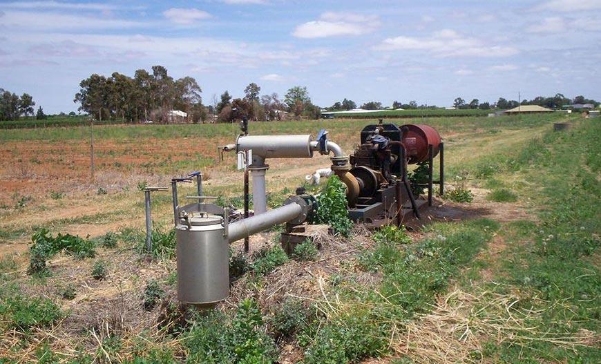 Mesin Pompa Air Irigasi dan Drainase